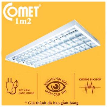 Bộ máng đèn lắp nổi ECO 0m6 2x20 CSR220/ET Comet