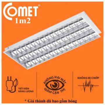 Máng đèn âm trần ECO 0m6 2x20W CFR220/ET Comet